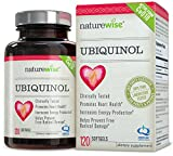 NatureWise Ubiquinol with 100% Pure Kaneka QH, the Active Form of CoQ10, 100 mg, 120 Softgels