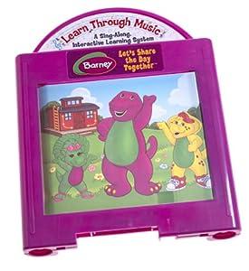 Learn Through Music Plus Barney's Colorful World Cartridge ...