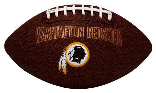 NFL Washington Redskins Game Time Football (Football Ball Nfl compare prices)