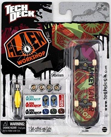 1-TECH-DECK-96mm-FINGERBOARD-ALIEN-WORKSHOP-BOARD-Mikey-Taylor-New