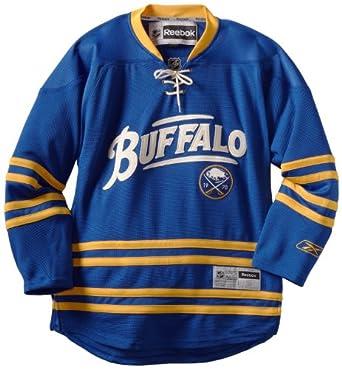 NHL Buffalo Sabres Premier Jersey, Blue by Reebok