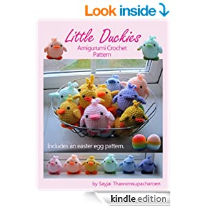 Amigurumi Made Easy Magazine : Amazon.com: Little Duckies Amigurumi Crochet Pattern (Easy ...