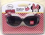 Minnie Mouse Glitter Sunglasses - Black with Pink Bows and FAKE Rhinestones