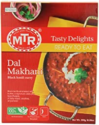 MTR Dal Makhani, 10.58-Ounce Boxes (Pack of 10)