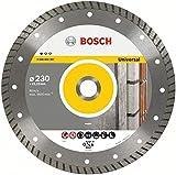 Bosch - Disco tronzador de diamante - Universal Turbo - 125 x 22,23 x 2 x 10 mm