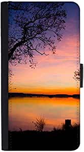 Snoogg Trees At Night Designer Protective Phone Flip Back Case Cover For Samsung Galaxy J7 (2016)