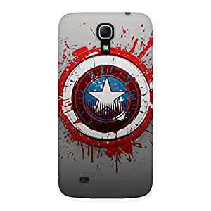 Stylish Premier Blood Round Multicolor Back Case Cover for Galaxy Mega 6.3