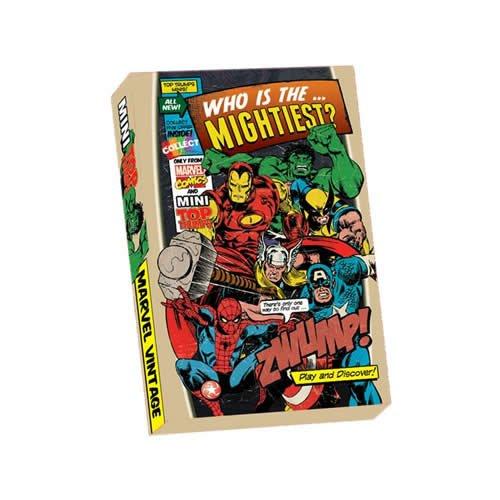 Mini Top Trumps Heroes Marvel Comic
