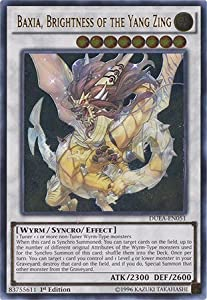 Yu-Gi-Oh! - Baxia, Brightness of the Yang Zing (DUEA-EN051) - Duelist Alliance - Unlimited Edition - Ultimate Rare