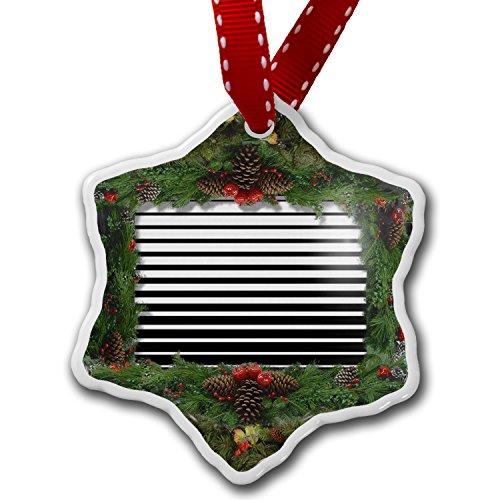 Christmas Ornament Doppler Effect, Stripes - Neonblond