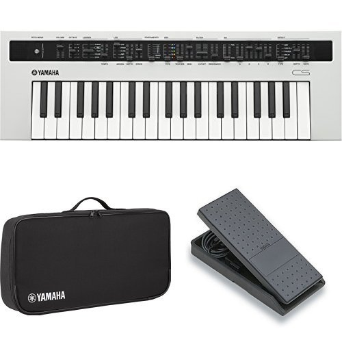 Fantastic Deal! Yamaha REFACE CS Synthesizer with Padded Case and Volume Expression Pedal