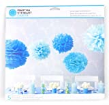 Martha Stewart Crafts Pom Poms, Blue