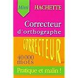 Correcteur d'orthographe Hachette