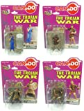 1:24 Scale Historical Figures The Trojan War Set Of 4