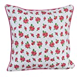 100% Cotton Roses & Dots Scatter Cushion Cover