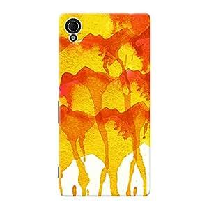 Mobile Back Cover For Sony Xperia M4 Aqua (Printed Designer Case)
