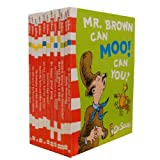 Dr. Seuss Collection 12 Books Set Pack (Fox in Socks, The Cat in the Hat Comes Back, Dr. Seuss' ABC, Hop on Pop, There's A Wocket In My Pocket, Horton Hears A Who!, Dr. Seuss' Sleep Book, Scrambled Eggs Super! and more)by Dr. Seuss