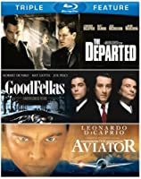 Martin Scorsese Triple Feature Goodfellas The Aviator The Departed Blu-ray by Warner Home Video