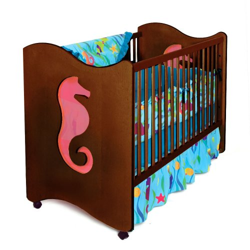 Room Magic Crib/Toddler Bed, Seahorse