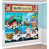 Jake & the Neverland Pirates Giant Scene Setter Wall Decorating Kit Birthday Party