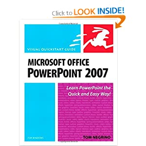Microsoft Office PowerPoint 2007 for Windows Tom Negrino