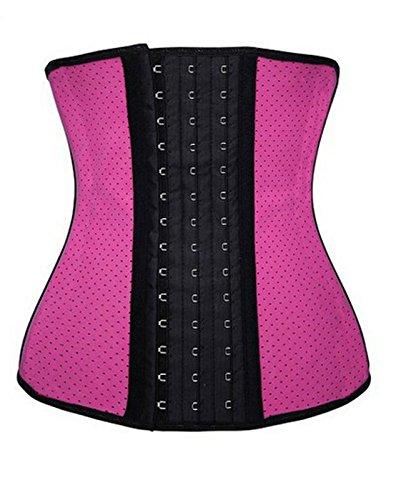 Women's Latex Sport Girdle Waist Training Corset Waist Shaper Plus Size