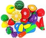 Contenido del paquete:  1 juego de cortar frutas vegetales finja el juego niños niño juguete educativo (sin el empaquetado por menor)