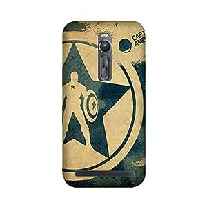 StyleO Asus Zenfone 2 Designer Printed Case & Covers (Asus Zenfone 2 Back Cover) - Superhero Captain America