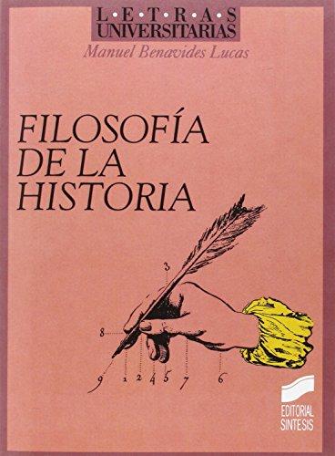 Filosofía de la historia (Letras universitarias)