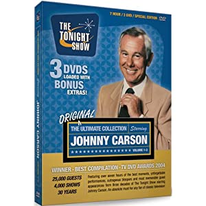 The Ultimate Johnny Carson Collection - His Favorite Moments From The Tonight Show (Vols. 1-3) (1962-1992) movie