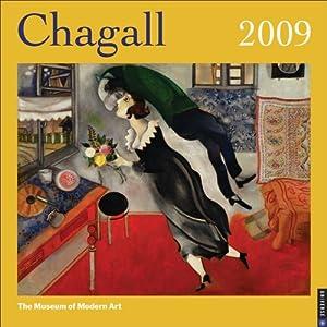 Chagall: 2009 Wall Calendar New York Museum Of Modern Art