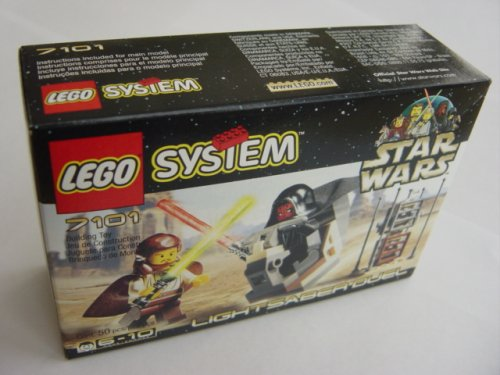 The sleek Naboo starfighter includes Buy LEGO Star Wars: Lightsaber Duel