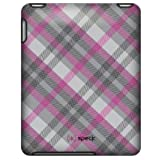Speck Products Apple iPad Fitted Case in Classic Plaid (Pink and Gray), IPAD-FTD-A02A020(1st Generation)