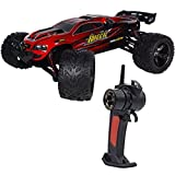 24GHz-38kmh-Ferngesteuertes-Auto-Truck-RC-Auto-Buggy-Truggy-Fantastisches-High-Speed-RC-Car-Rot