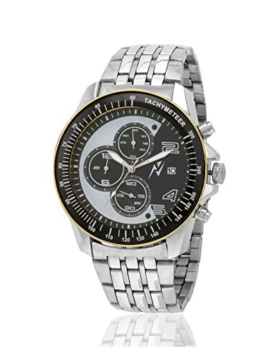 Yepme Men's Chronograph Watch – Grey/Silver — YPMWATCH2566