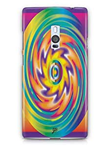 YuBingo Colourful Circular Pattern Mobile Case Back Cover for OnePlus 2
