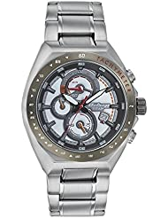 Titan Octane Feel The Speed Men Chronograph Stainless Steel Watch-90048KM01