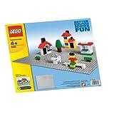 LEGO X-Large Gray Baseplate (628) ~ LEGO