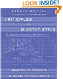 Student Solutions Manual for Pagano/Gauvreau's Principles of Biostatistics