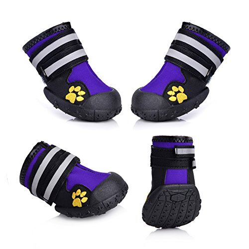 cea072a2e21 Fantastic Zone Waterproof Pet Boots Dog Boots for Various Size Dogs ...
