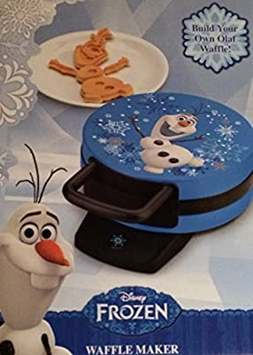 Disney Frozen Olaf Waffle Maker - Makes Olaf the Snowman Waffles from Walt Disney