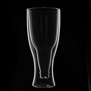 verre a bi re bi re a double paroi avec bouteille a l 39 envers l 39 envers 250ml cuisine. Black Bedroom Furniture Sets. Home Design Ideas