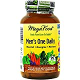 MegaFood Men's One Daily Tablets, 90 Count (Premium Packaging)