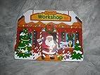 santa's workshop pop-up book