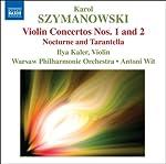 シマノフスキ:ヴァイオリン協奏曲第1番&第2番