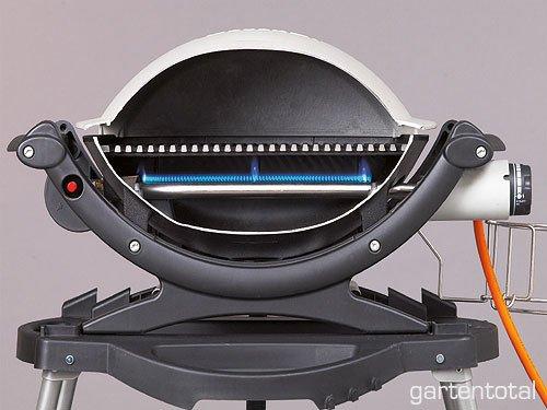 weber q 1000 titan kleinster mobiler gasgrill. Black Bedroom Furniture Sets. Home Design Ideas