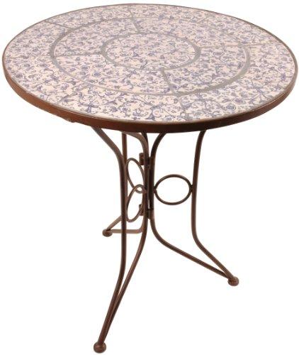 Aged Ceramic Garden Table