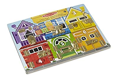 Melissa & Doug 13785 Latches Board
