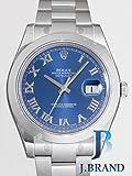 [ロレックス]ROLEX 腕時計 パーペチュアル デイトジャストII ブルーローマ 116300 メンズ [並行輸入品]