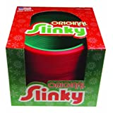 POOF-Slinky Model #124 Plastic Holiday Original Slinky, Single Item, Assorted Colors